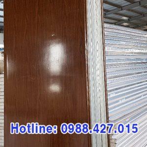 Tấm vách ngăn cách nhiệt Panel EPS vân gỗ