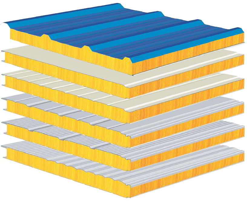 các loại panel glasswool
