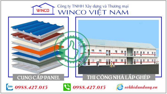 lĩnh vực hoạt động của Winco Việt Nam