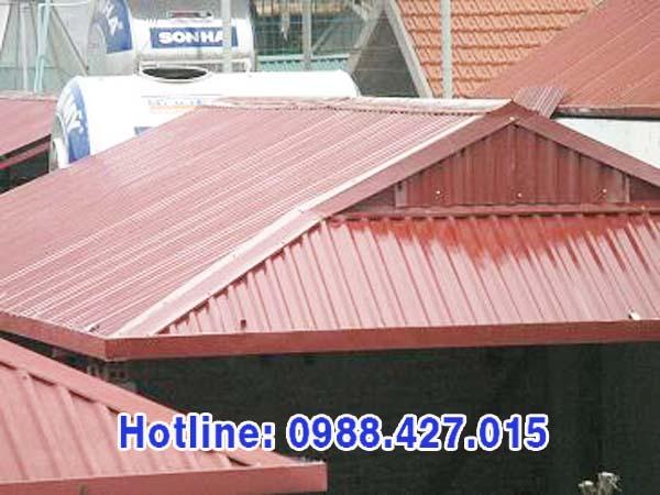 Mái tôn đẹp, chất lượng tốt, giá cạnh tranh - Cơ Khí Toàn Cầu