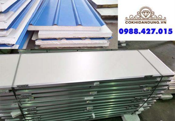 mái và cửa panel eps