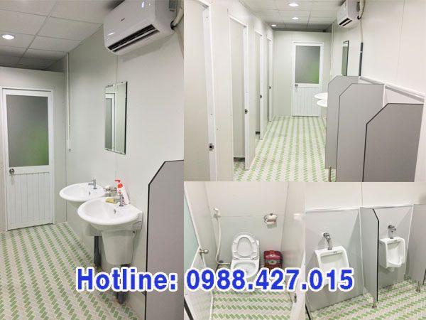 Nhà vệ sinh nhà lắp ghép