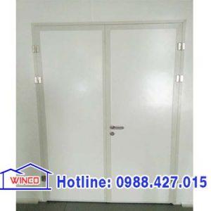 cửa panel 2 cánh mở quay